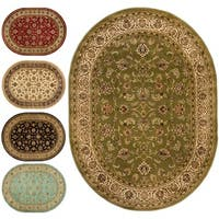 Well Woven Oriental  Formal Oval Area Rug - 5'3 x 6'10