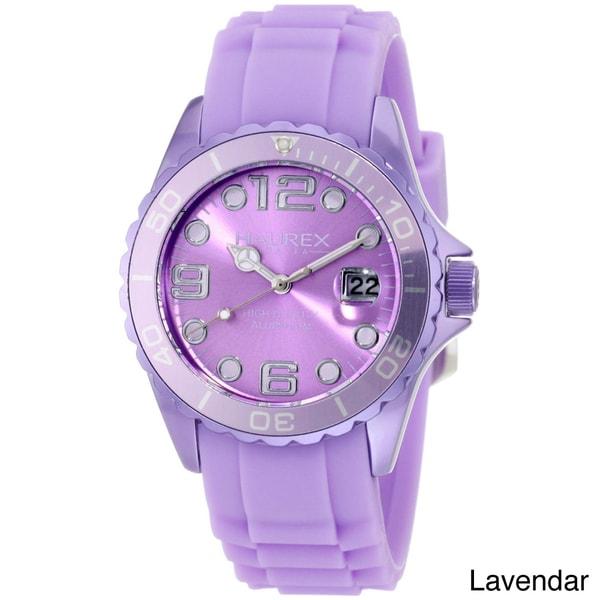 Shop haurex italy women 39 s unidirectional bezel date watch free shipping today for Haurex watches