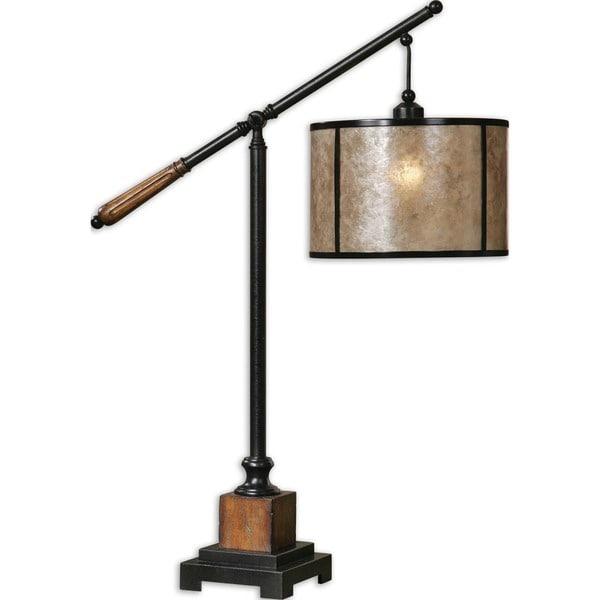 Uttermost Sitka 1-light Aged Black Lantern Table Lamp