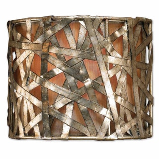 Uttermost Alita 1-light Champagne Wall Sconce