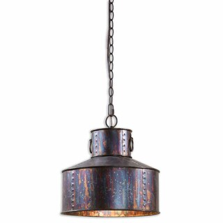 Uttermost Giaveno 1- light Oxidized Bronze Pendant