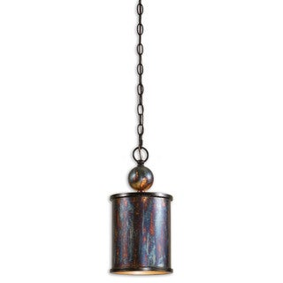 Uttermost Albiano 1-light Oxidized Bronze Mini Pendant