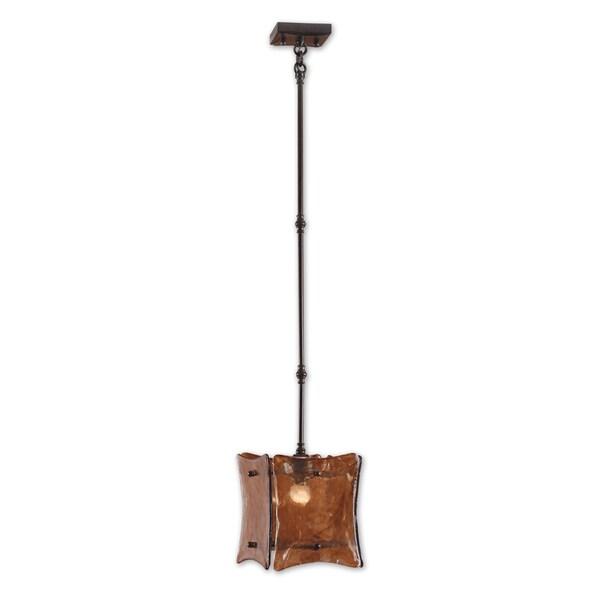 Uttermost Vetraio II 1-light Oil Rubbed Bronze Mini Pendant