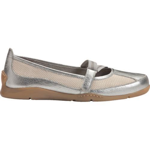Women's Aerosoles Evolution Silver Leather