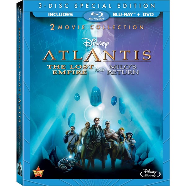 Atlantis: The Lost Empire/Atlantis: Milo's Return (Blu-ray/DVD)