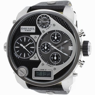 Diesel Men's DZ7125 Time Zone Watch - Black
