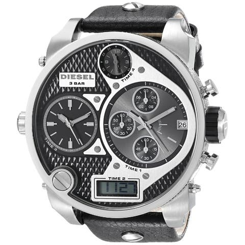 532468ee512 Diesel Men s DZ7125 Time Zone Watch - Black