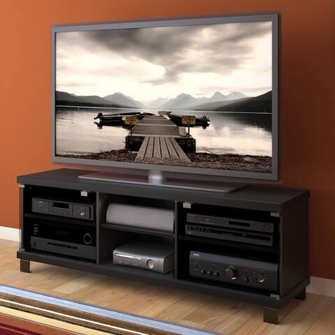 """CorLiving Holland Ravenwood Black TV Bench, for TVs up to 68"""""""