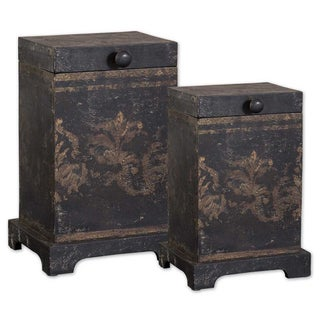 Uttermost Melani Wood Decorative Boxes (Set of 2)