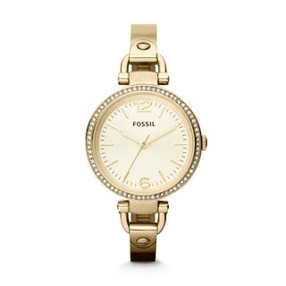Fossil Women's ES3227 Georgia Goldtone Watch