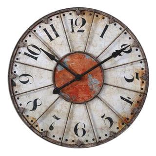 Uttermost Ellsworth 29-inch Wall Clock|https://ak1.ostkcdn.com/images/products/7885943/7885943/Ellsworth-29-inch-Wall-Clock-P15268054.jpg?impolicy=medium