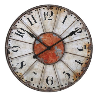 Link to Uttermost Ellsworth 29-inch Wall Clock Similar Items in Decorative Accessories