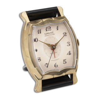 Uttermost Wristwatch Alarm Square Grene