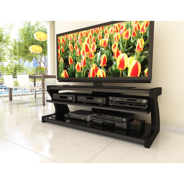 Sonax Sonoma 57-inch Midnight Black Designer TV Stand