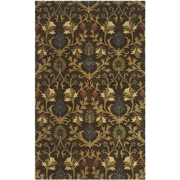 Safavieh Handmade Botanica Brown/ Multi Wool Rug - 8' x 10'