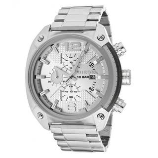 Diesel Men's Stainless Steel Silver Dial Chronograph Watch|https://ak1.ostkcdn.com/images/products/7886187/Diesel-Mens-Stainless-Steel-Silver-Dial-Chronograph-Watch-P15268534.jpg?impolicy=medium