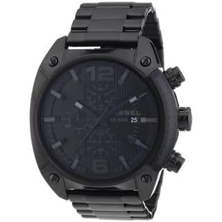 Diesel Men's Black Stainless Steel Chronograph Watch|https://ak1.ostkcdn.com/images/products/7886196/P15268535.jpg?impolicy=medium