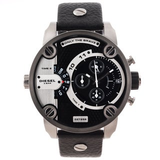 Diesel Men's DZ7256 Oversized Black Dial Chronograph Watch