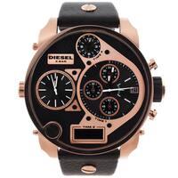 Diesel Men's Rose Goldtone/ Black Chronograph Watch