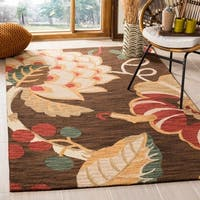 Safavieh Handmade Jardin Brown/ Multi Wool Rug - 8' x 10'