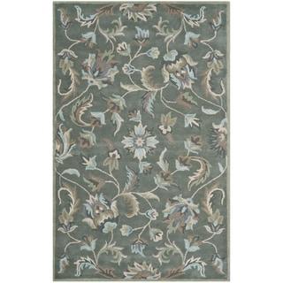 Safavieh Handmade Jardin Grey/ Multi Wool Rug (8' x 10')