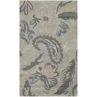 Safavieh Handmade Jardin Light Grey/ Multi Wool Rug - 3' x 5'