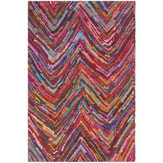 Safavieh Handmade Nantucket Eftichia Contemporary Cotton Rug
