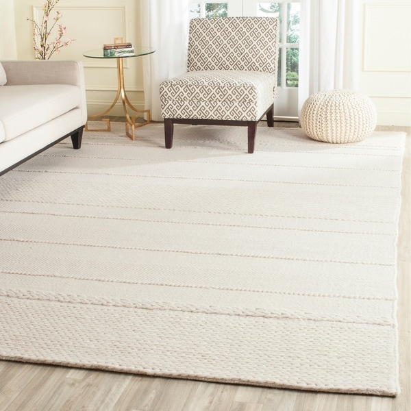 Shop Safavieh Handmade Natura Natural Wool Rug 8 X 10 On Sale
