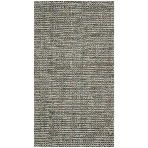 Safavieh Casual Natural Fiber Hand-loomed Sisal Style Grey Jute Rug - 2'3 x 4'