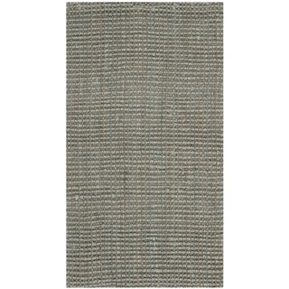 Safavieh Casual Natural Fiber Hand-loomed Sisal Style Grey Jute Rug - 2'3 x 4'