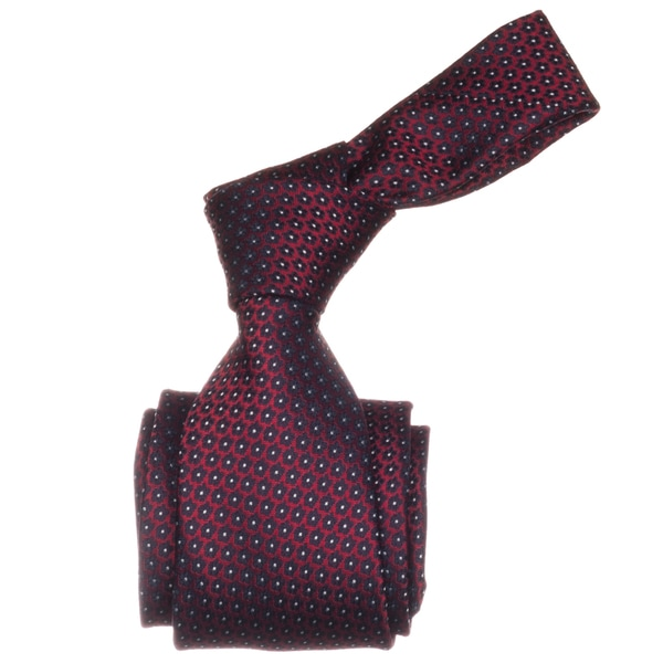 Republic Men's Red Dotted Microfiber Neck Tie