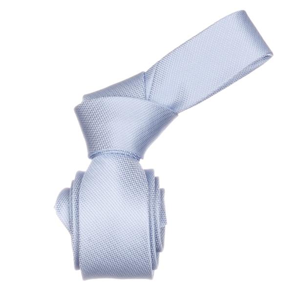 Republic Men's Blue Skinny Microfiber Neck Tie
