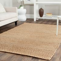 Safavieh Casual Natural Fiber Hand-Loomed Geometric Sisal Style Natural Jute Rug - 2'3' x 4'