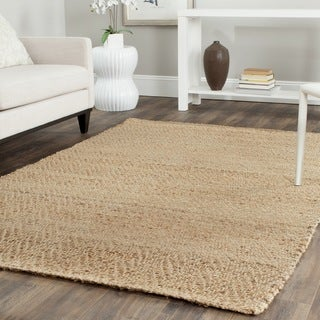 Safavieh Casual Natural Fiber Hand-Loomed Sisal Style Natural Jute Area Rug (4' x 6')