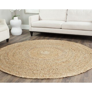 Safavieh Casual Natural Fiber Hand-loomed Sisal Style Natural Jute Rug - 7' Round