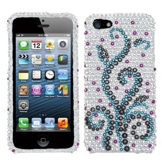 INSTEN Frosty Diamante Phone Case Cover for Apple iPhone 5