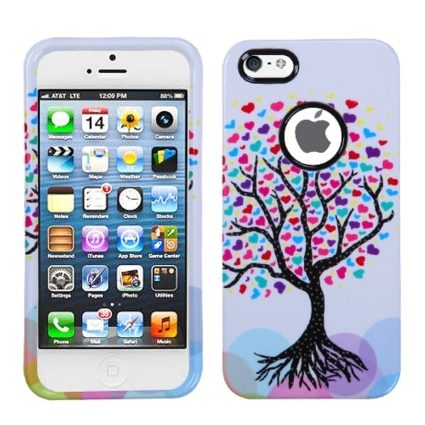 INSTEN Love Tree Phone Case Cover for Apple iPhone 5