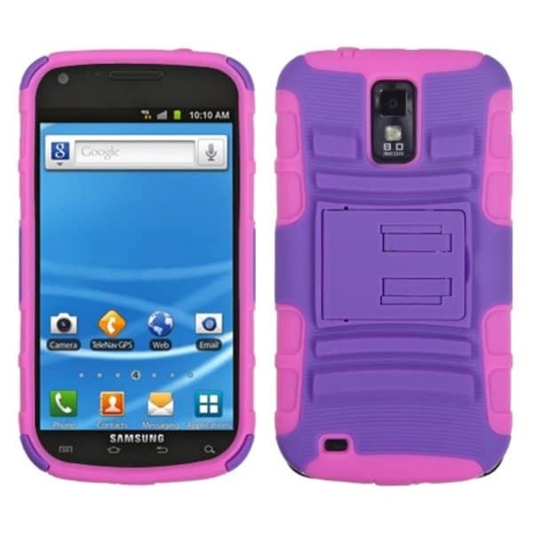 Insten Purple/ Pink Case for Samsung T989/ Galaxy S II