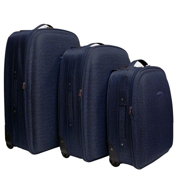 Chicane Blue 3-piece Luggage Set