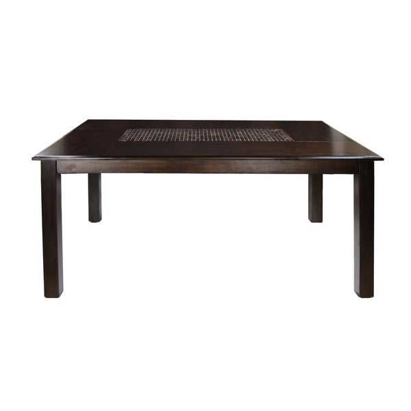 Furniture Of America Yani 64 Inch Rectangular Mosaic Insert Dining Table    Free Shipping Today   Overstock.com   15270100