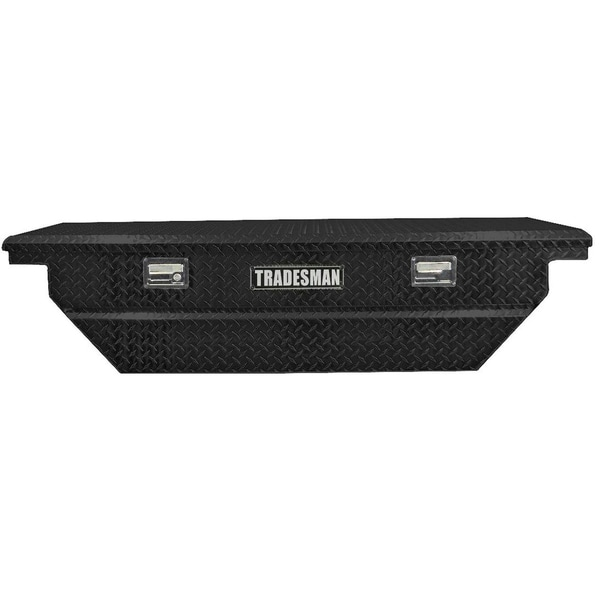 Shop 63-Inch Black Low Profile Aluminum Cross Bed Truck Tool Box - Free  Shipping Today - Overstock.com - 7888270 7e5976426