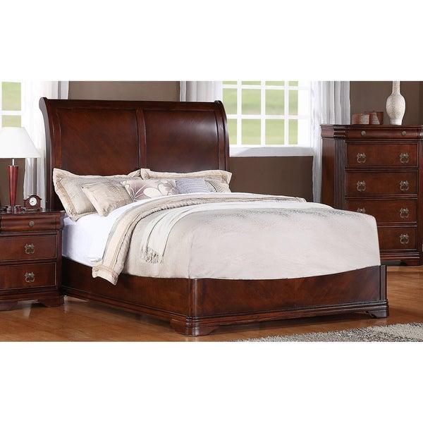 Picket House Kensworth Cherry Finish Sleigh Bed