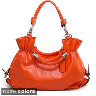 Dasein Women's Belted Convertible Shoulder Bag