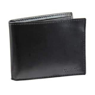 Calvin Klein Men's Bi-fold Leather Wallet and Passcase|https://ak1.ostkcdn.com/images/products/7888498/7888498/Calvin-Klein-Mens-Bi-fold-Leather-Wallet-and-Passcase-P15270251.jpg?impolicy=medium