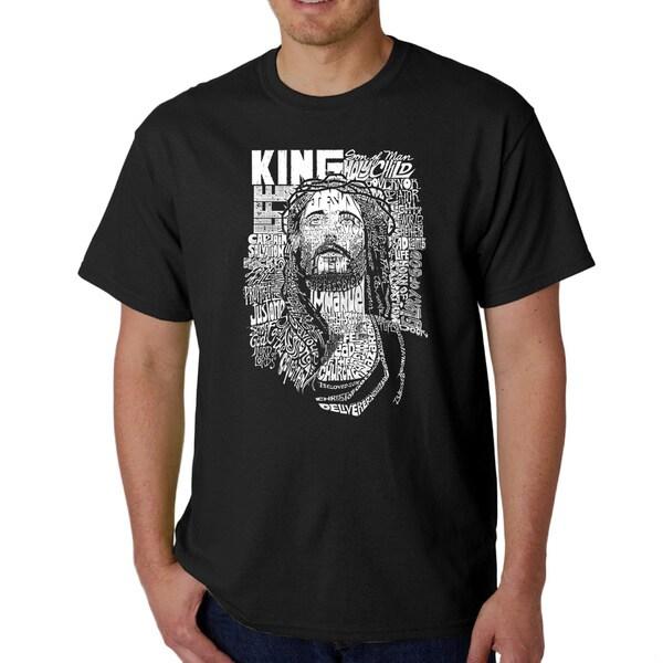 Los Angeles Pop Art Mens Jesus T-shirt