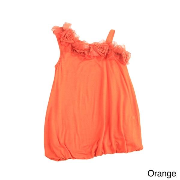 Sweetheart Jane Girls' One Shoulder Bubble Dress