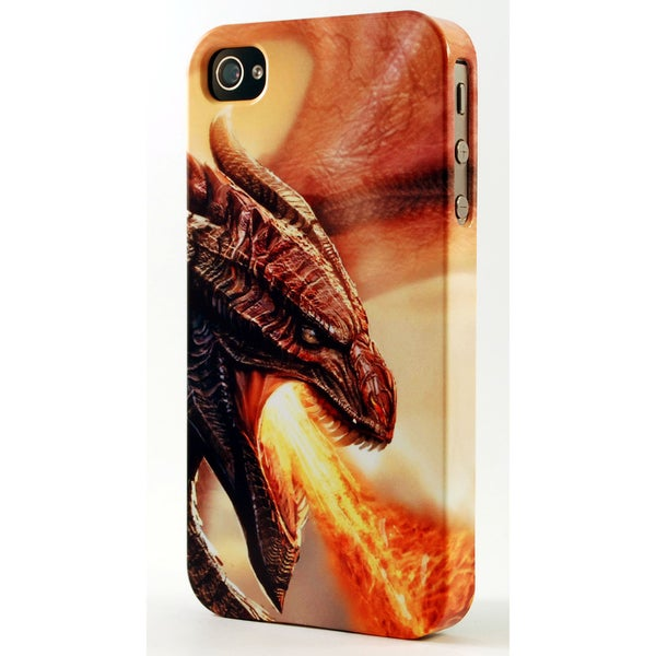 Fire Breathing Dragon 3D Plastic iPhone Case