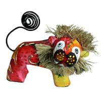 Handmade Lion Figurine (Indonesia)