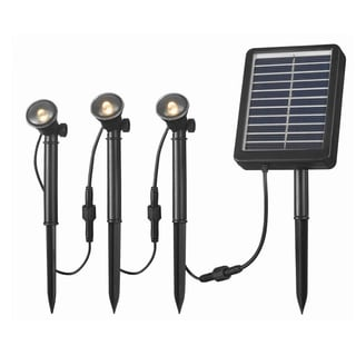 Nova Solar Deck, Dock and Path Light 3-light String