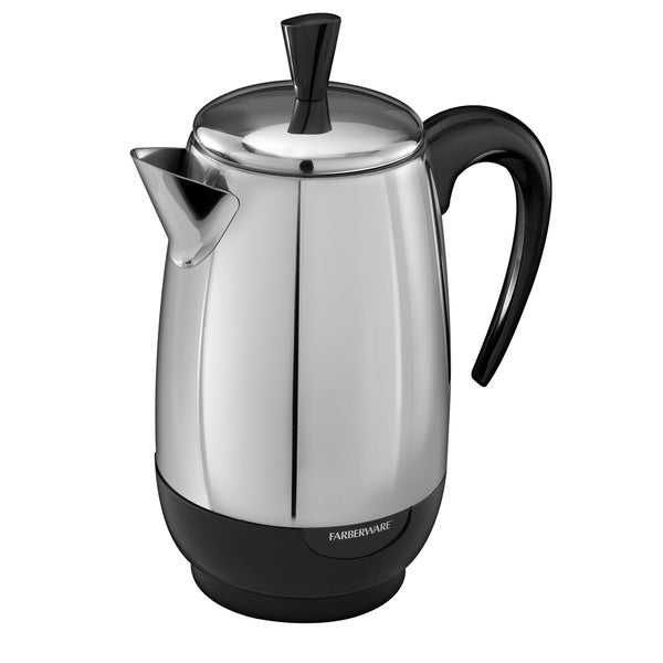 Farberware FCP280 Stainless Steel 8-cup Percolator (Refurbished)